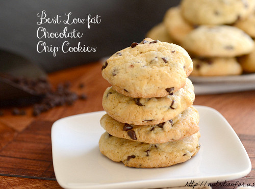 Low Calorie Chocolate Chip Cookies  The Best Low fat Chocolate Chip Cookies Part Deux