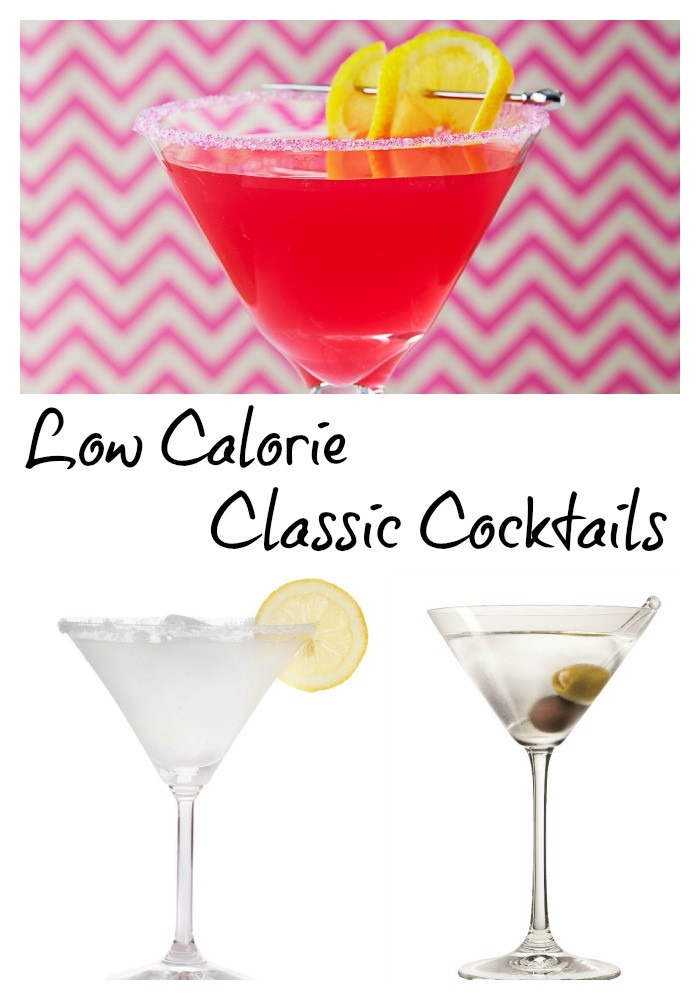 Low Calorie Cocktails  Low Calorie Classic Cocktails with a Modern Twist