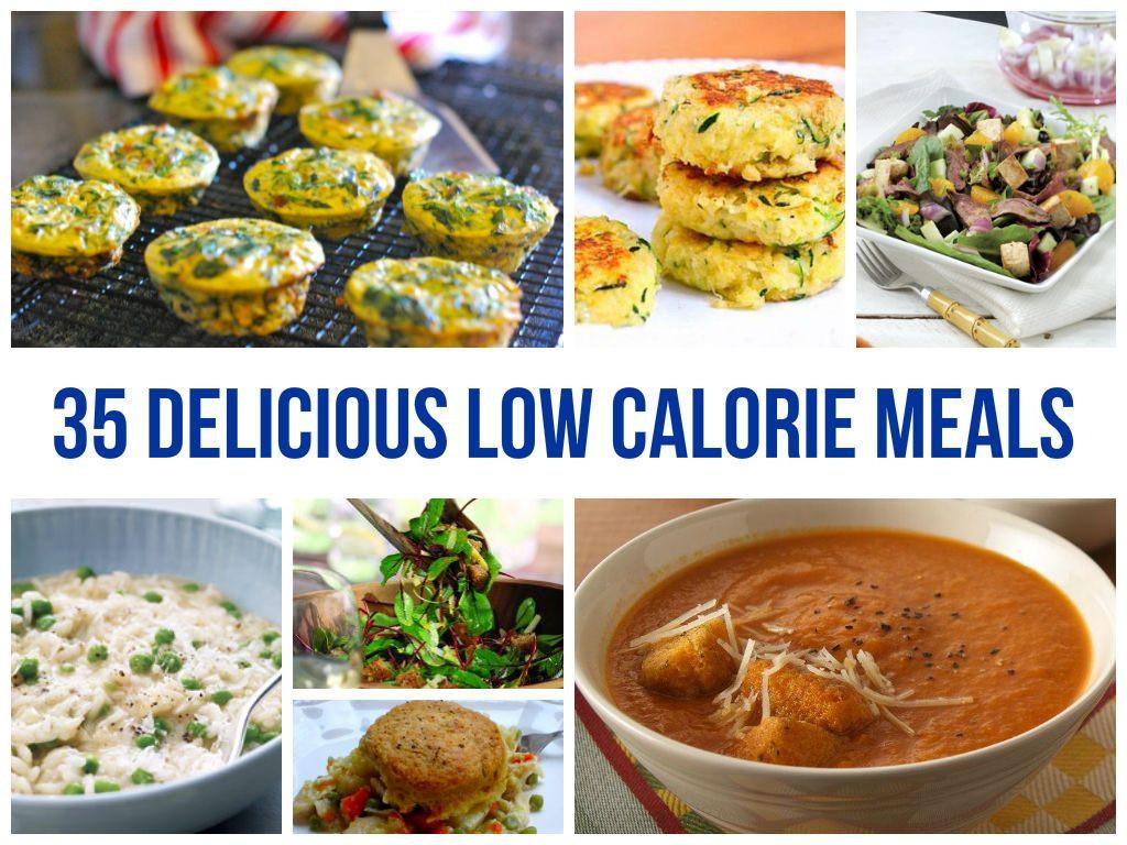 Low Calorie Dinner  Low Calorie Meals