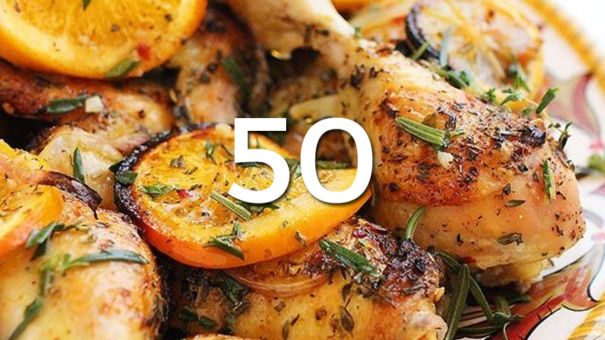Low Calorie Dinner  50 Healthy Low Calorie Weight Loss Dinner Recipes
