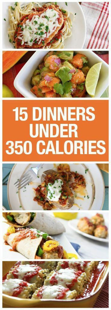 Low Calorie Dinner  Low calorie dinners Healthy and Dinner options on Pinterest