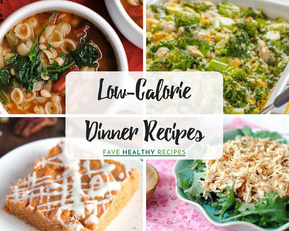Low Calorie Dinner  20 Low Calorie Dinner Recipes