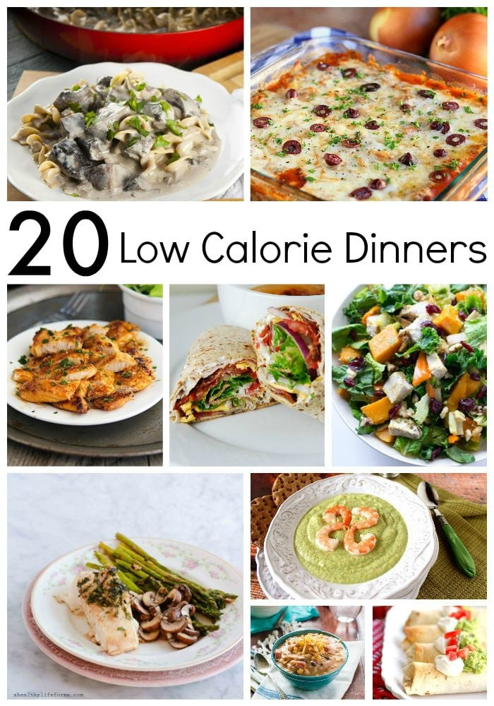 Low Calorie Dinner  20 Low Calorie Dinners