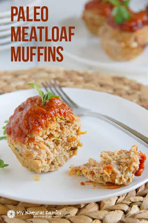Low Calorie Ground Turkey Recipes  Veggie Paleo Meatloaf Muffins Recipe Clean Eating Gluten