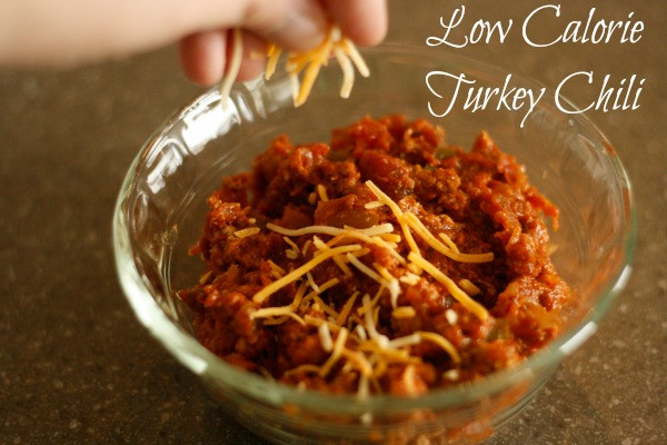 Low Calorie Ground Turkey Recipes  Low Calorie Turkey Chili Recipe • Binkies and Briefcases