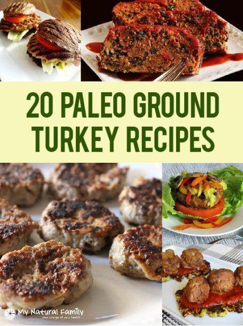 Low Calorie Ground Turkey Recipes  Paleo Recipes With Ground Turkey