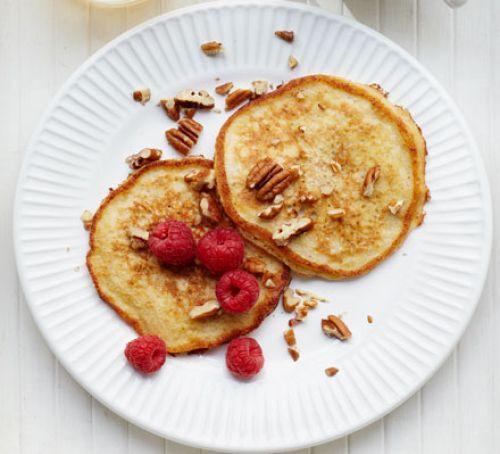 Low Calorie Pancakes  Banana pancakes recipe
