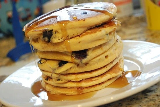 Low Calorie Pancakes  Weight Watchers Blueberry Recipes