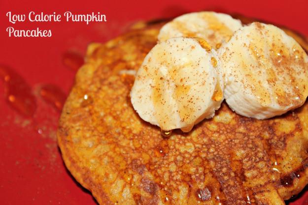 Low Calorie Pancakes  Low Calorie Healthy Pumpkin Pancakes