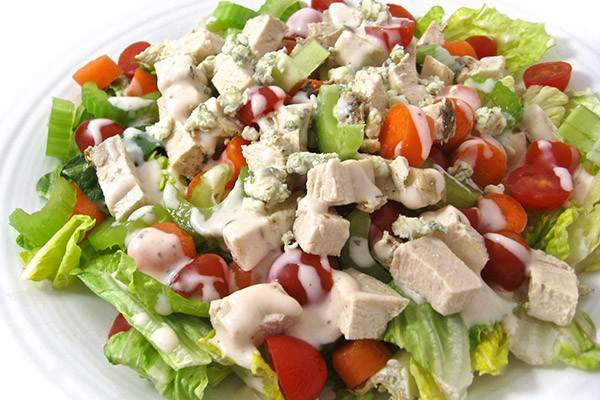 Low Calorie Salads  Low Calorie Buffalo Ranch Chicken Salad with Weight