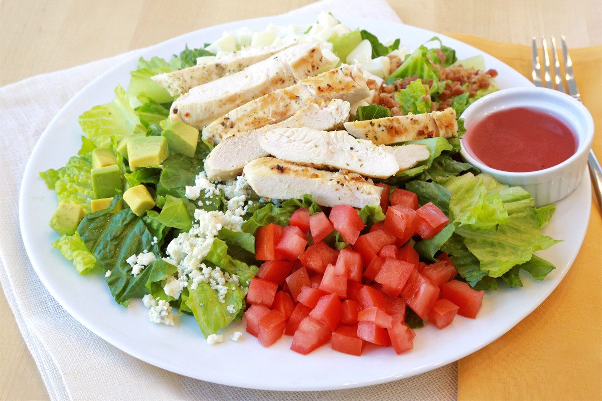 Low Calorie Salads  Low Calorie Cobb Salad Recipe