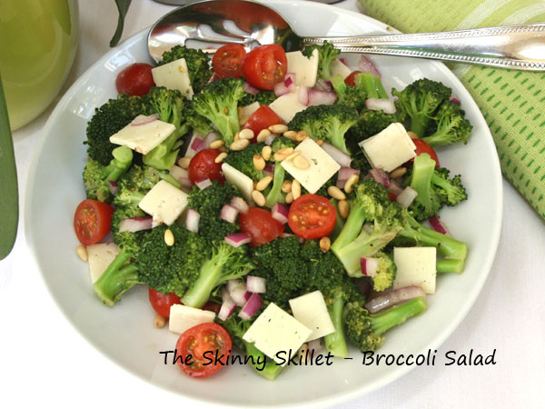 Low Calorie Salads  Broccoli Salad