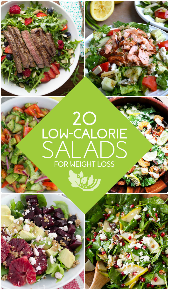 Low Calorie Salads  20 Healthy Low Calorie Salads for Weight Loss