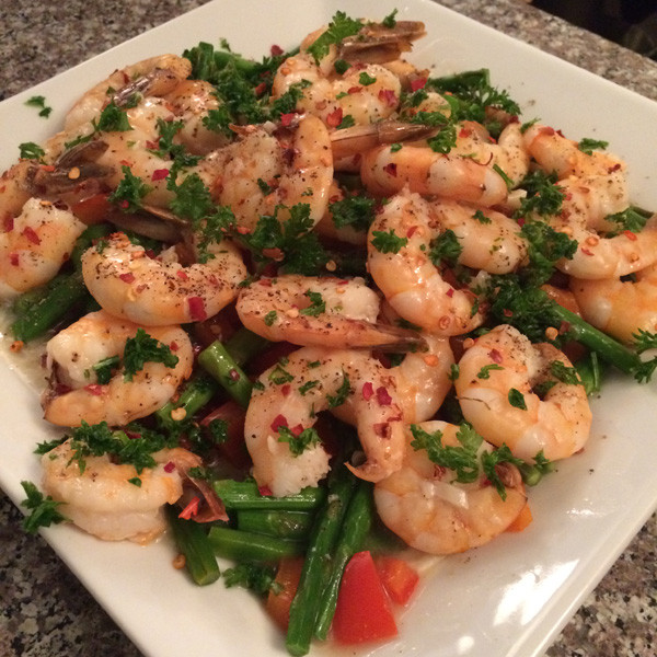 Low Calorie Shrimp Recipes  Lemon Garlic Shrimp Recipe TingFit