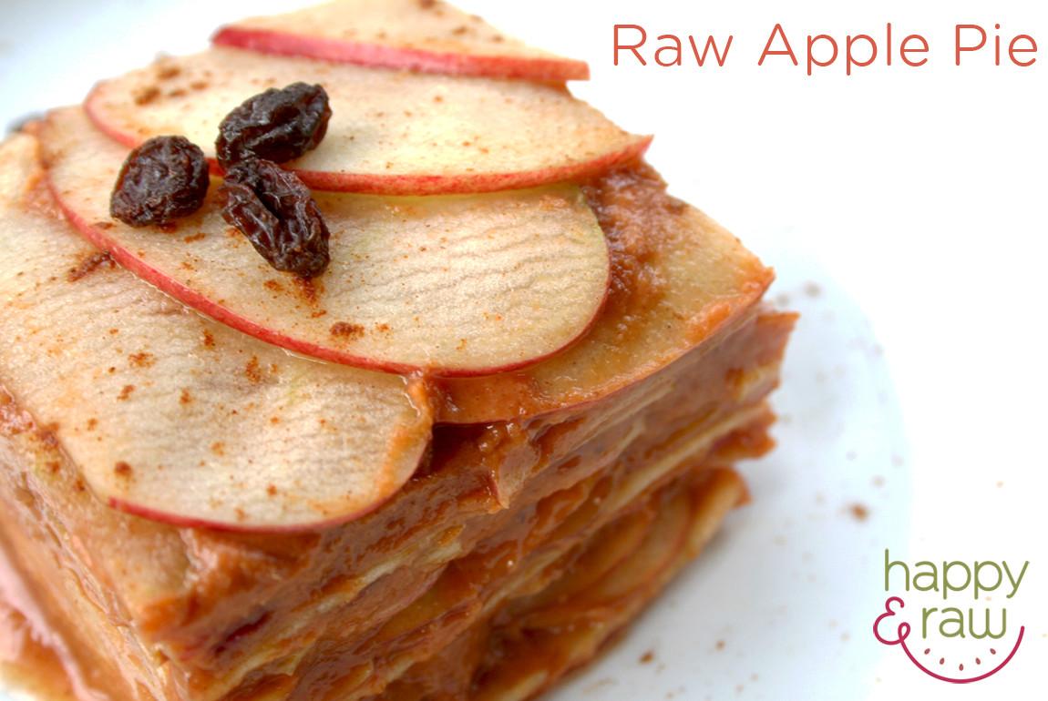 Low Calorie Vegan Desserts  Low Fat Raw Vegan Apple Pie Laura Dawn Happy & Raw