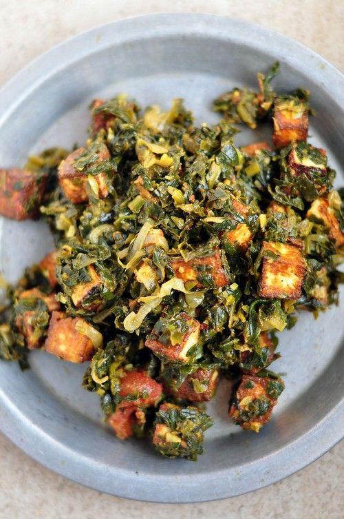 Low Calorie Vegetarian Recipes  Low Calorie Indian Spinach Paneer Palak recipe – 199