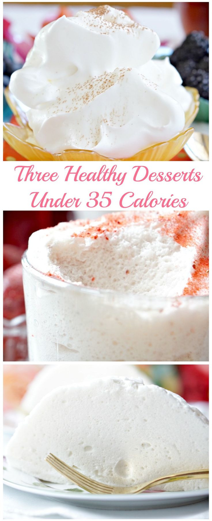 Low Calories Desserts  Avoid Holiday Weight Gain