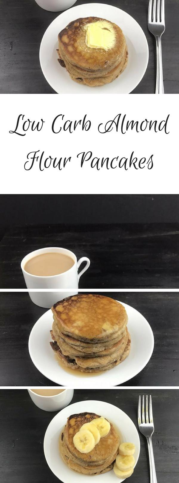 Low Carb Almond Flour Pancakes  Low Carb Almond Flour Pancakes ⋆ by Pink