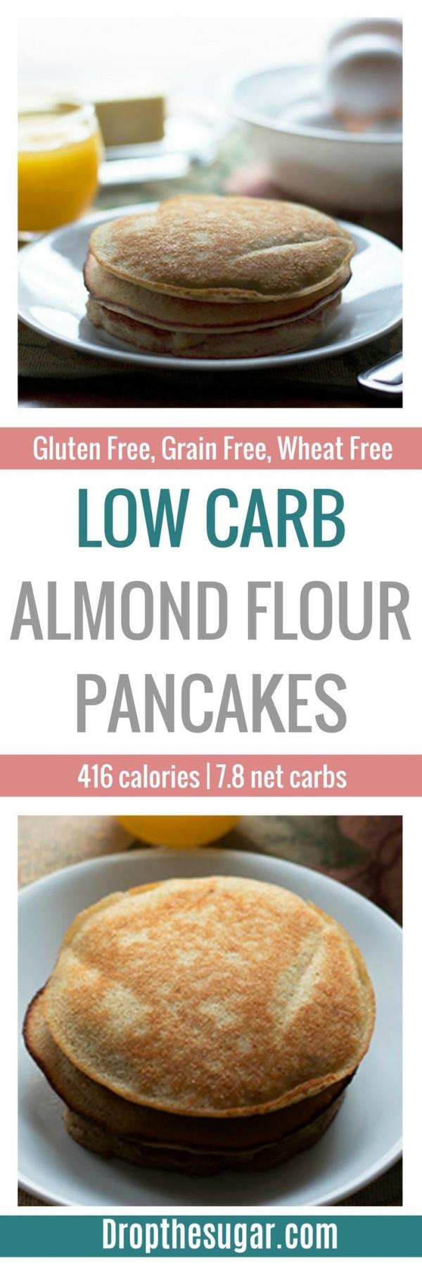 Low Carb Almond Flour Pancakes  Low Carb Almond Flour Pancakes