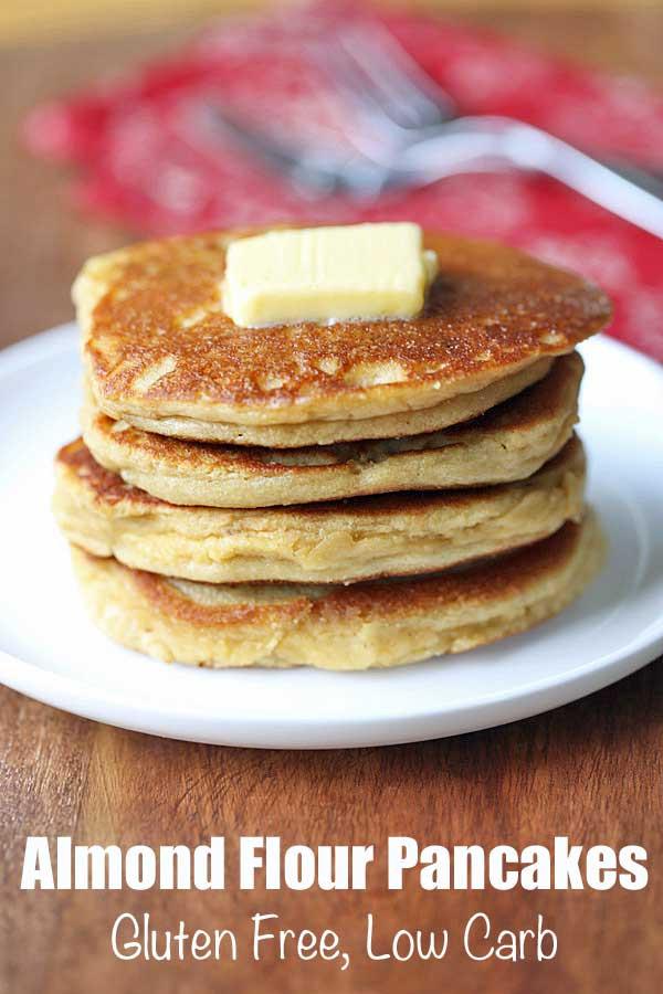 Low Carb Almond Flour Pancakes  Almond Flour Pancakes Low Carb Recipe VIDEO