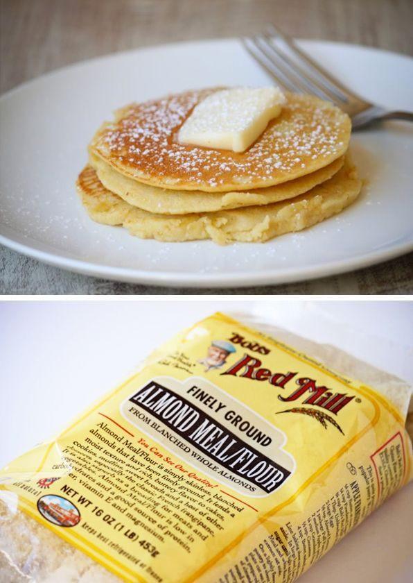 Low Carb Almond Flour Pancakes  Low carb pancake mix Gluten free Low Carb Paleo Desserts