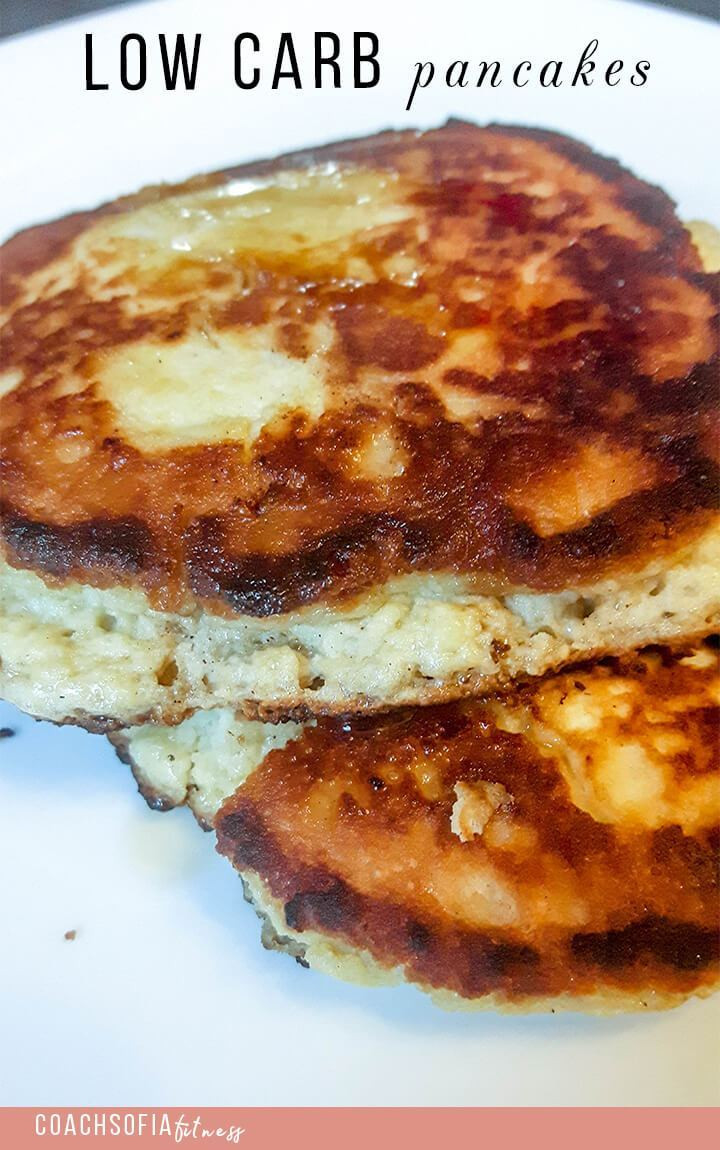 Low Carb Almond Flour Pancakes  Low carb pancakes almond flour • Coach Sofia