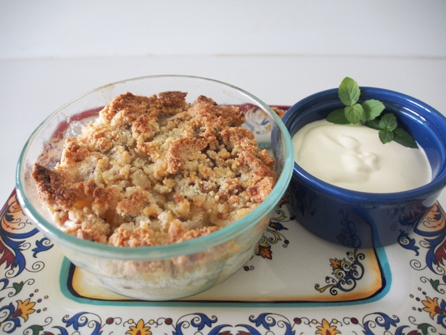 Low Carb Apple Dessert  Low Carb Apple Crumble Julia McPhee