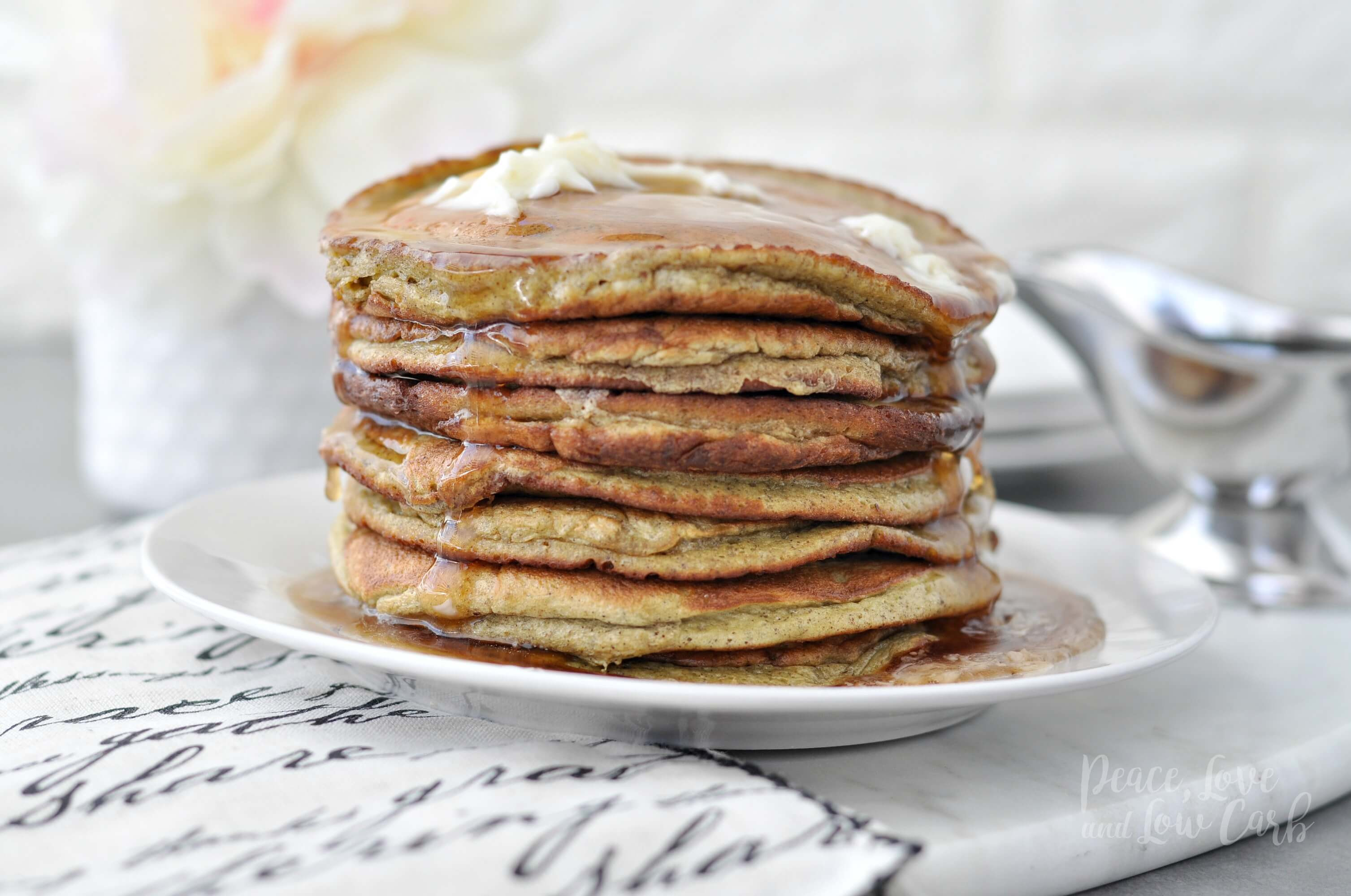 Low Carb Banana Pancakes  Low Carb Keto Banana Nut Protein Pancakes