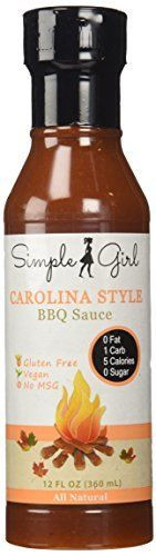 Low Carb Bbq Sauce Brands  Simple Girl Carolina Style Sugar Free BBQ Sauce Low Carb