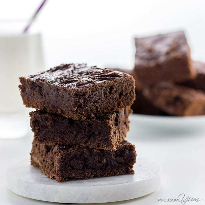 Low Carb Brownies Almond Flour  Easy Paleo Low Carb Brownies Recipe with Almond Butter 5