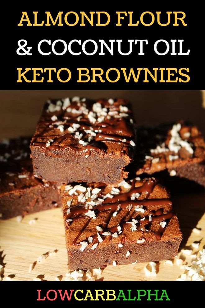Low Carb Brownies Almond Flour  Almond Flour Coconut Oil Keto Brownies