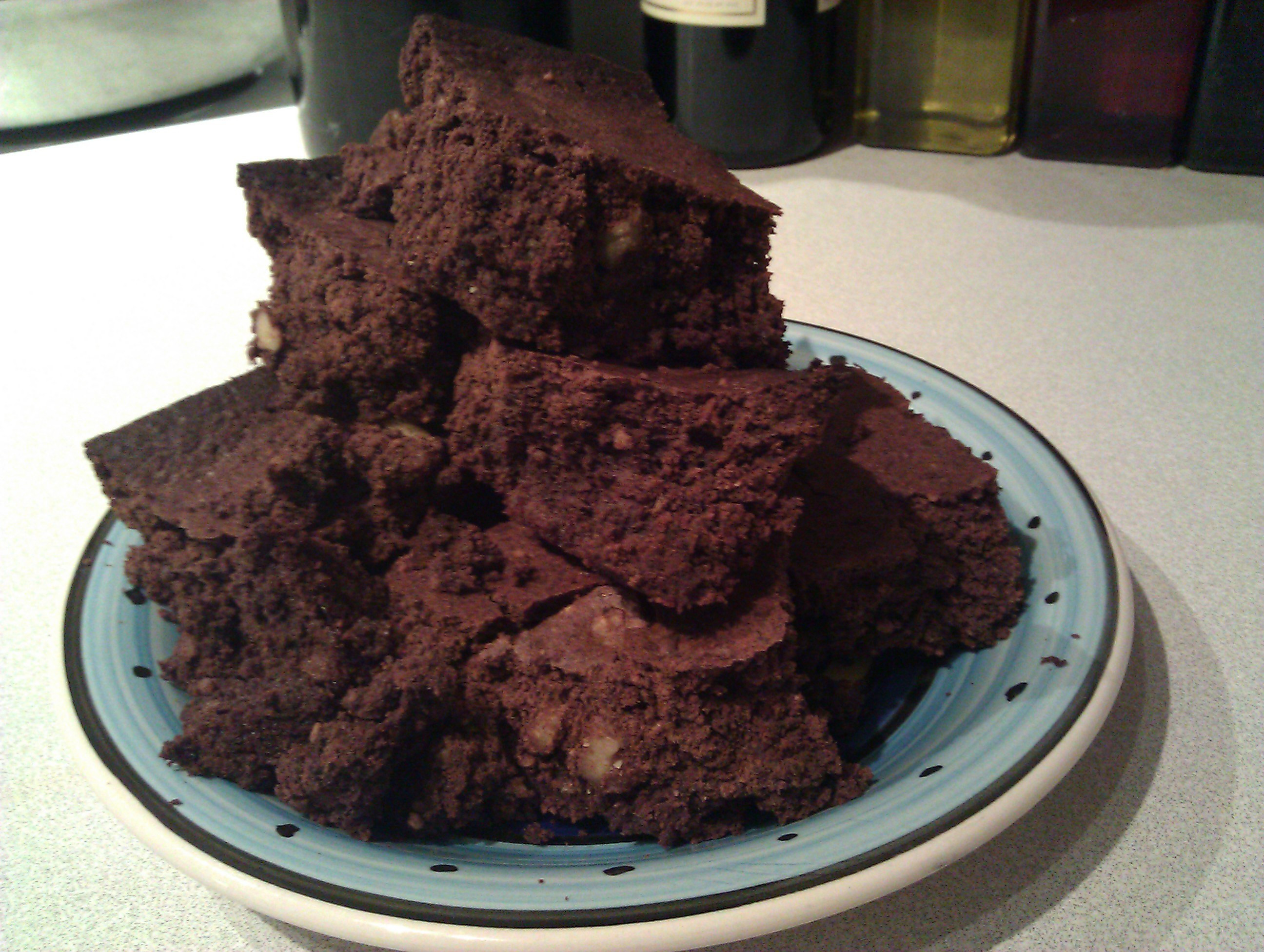 Low Carb Brownies Almond Flour  Best Low Carb Brownies Ever The Rogue Cookie The