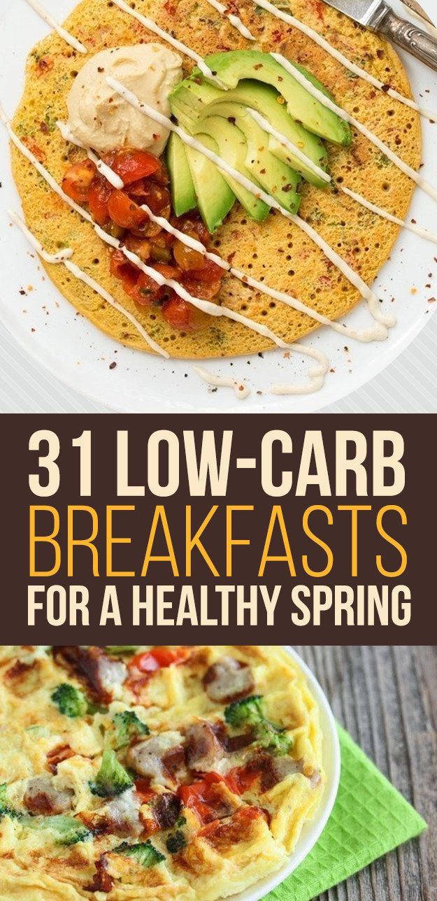 Low Carb Brunch Recipes  31 Low Carb Breakfasts For A Healthy Spring from BuzzFeed