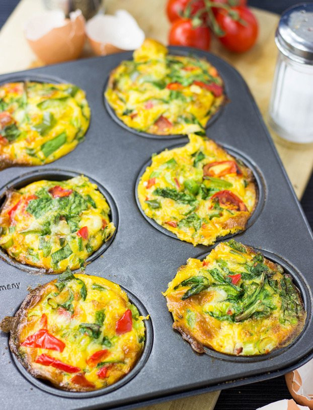Low Carb Brunch Recipes  Breakfast Egg Muffins