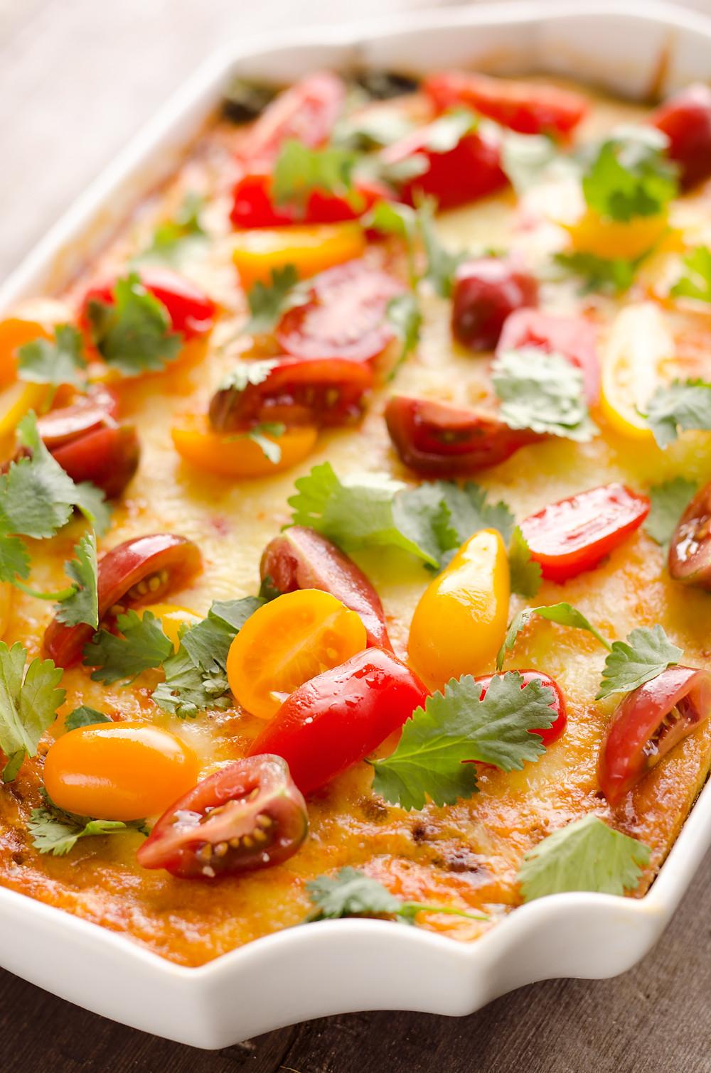 Low Carb Brunch Recipes  Roasted Poblano & Chorizo Egg Casserole Low Carb Recipe