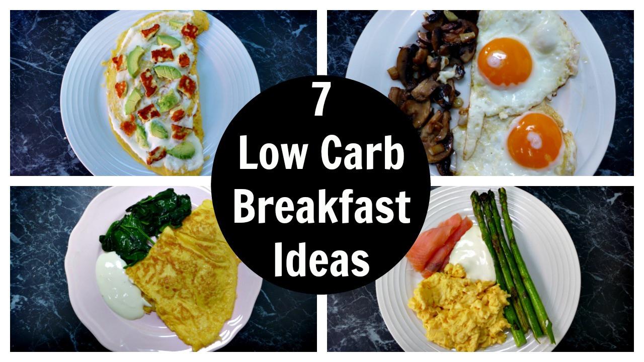 Low Carb Brunch Recipes  7 Low Carb Breakfast Ideas A week of Keto Breakfast Recipes