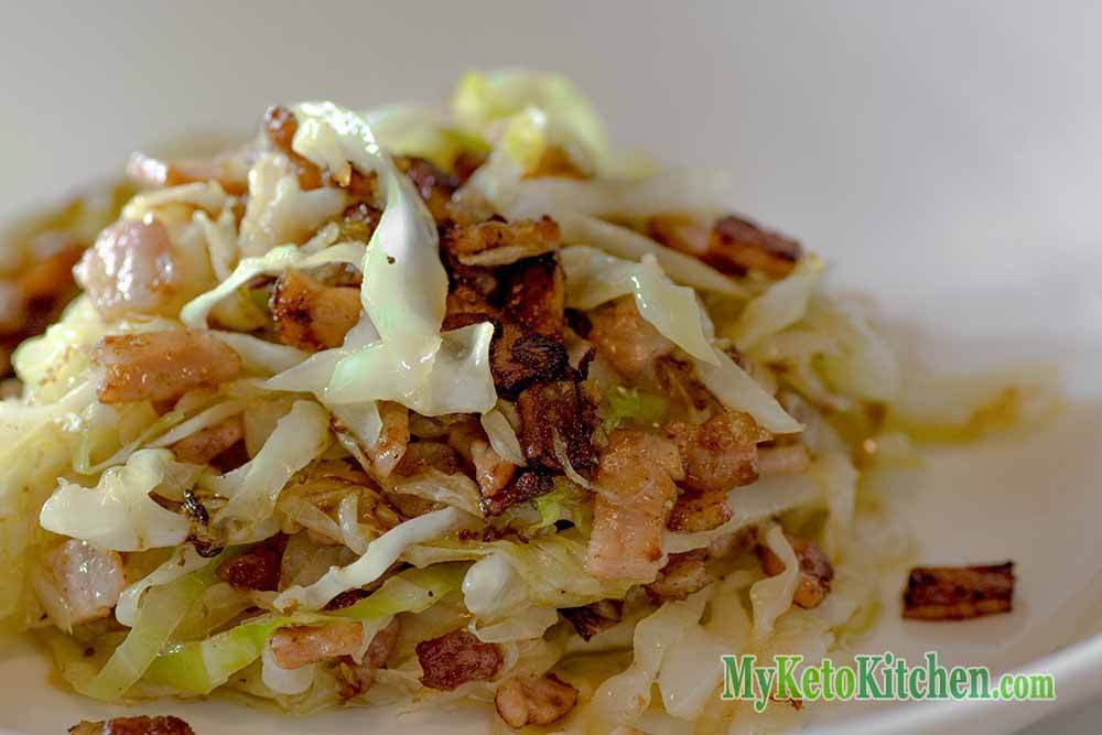 Low Carb Cabbage Recipes  Low Carb Buttery Bacon and Cabbage Stir Fry