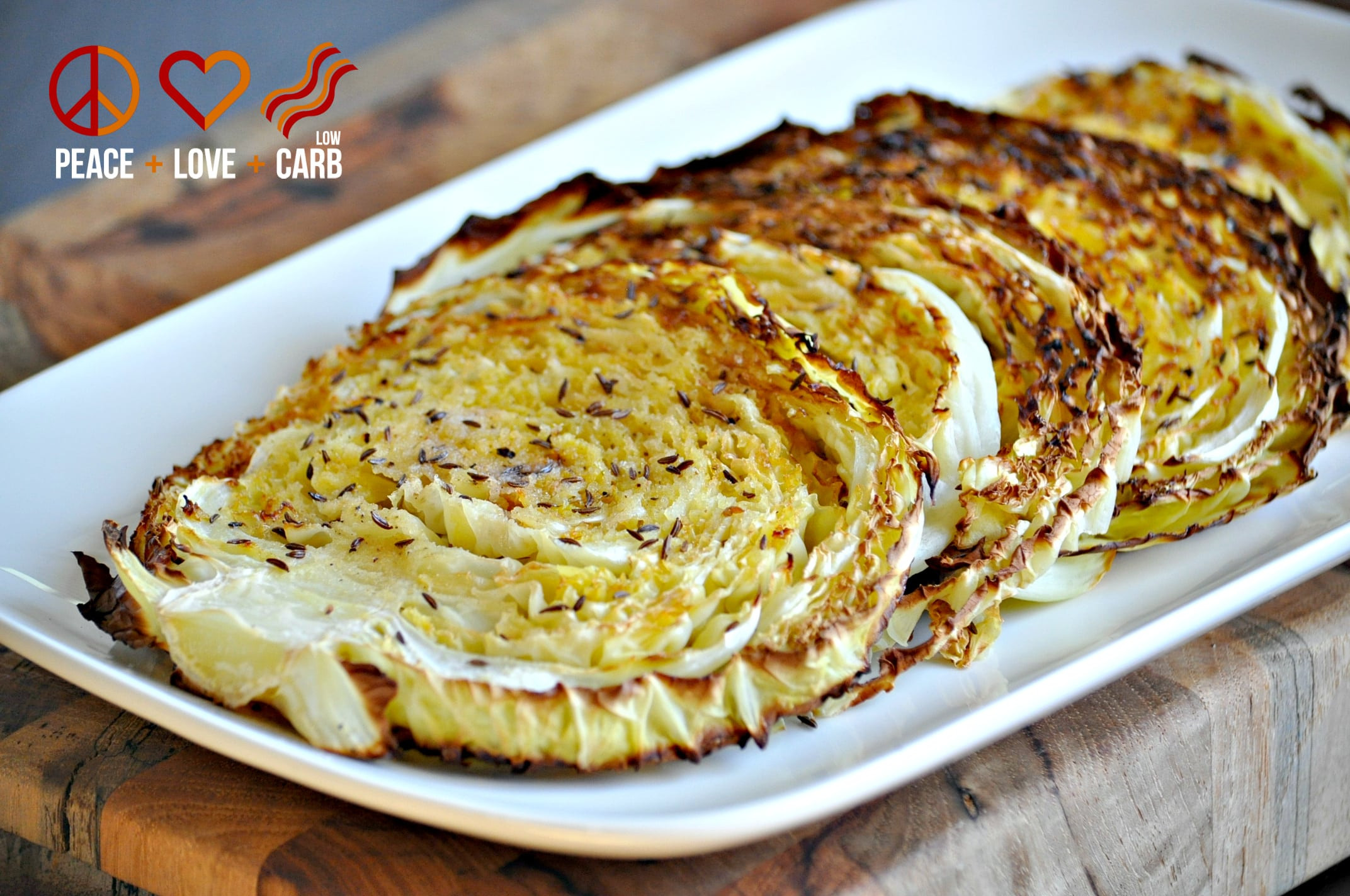 Low Carb Cabbage Recipes  Oven Roasted Cabbage Wedges Low Carb Paleo Gluten Free