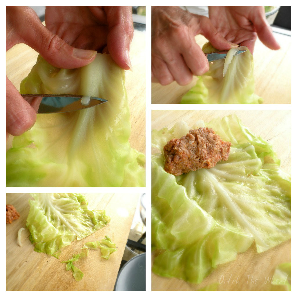 Low Carb Cabbage Rolls  Low Carb Cabbage Rolls