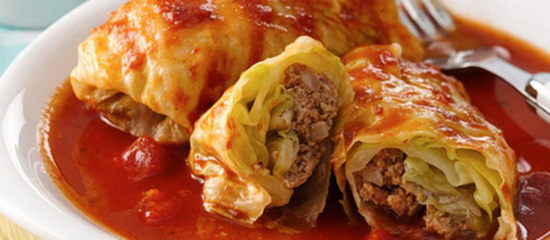 Low Carb Cabbage Rolls  Low Carb Stuffed Cabbage Rolls MealGarden