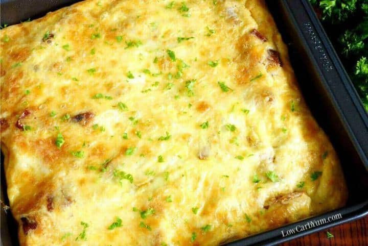 Low Carb Casserole Recipes  Basic Low Carb Egg Casserole Recipe with Sausage