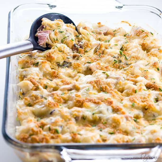 Low Carb Casserole Recipes  chicken cordon bleu casserole recipe