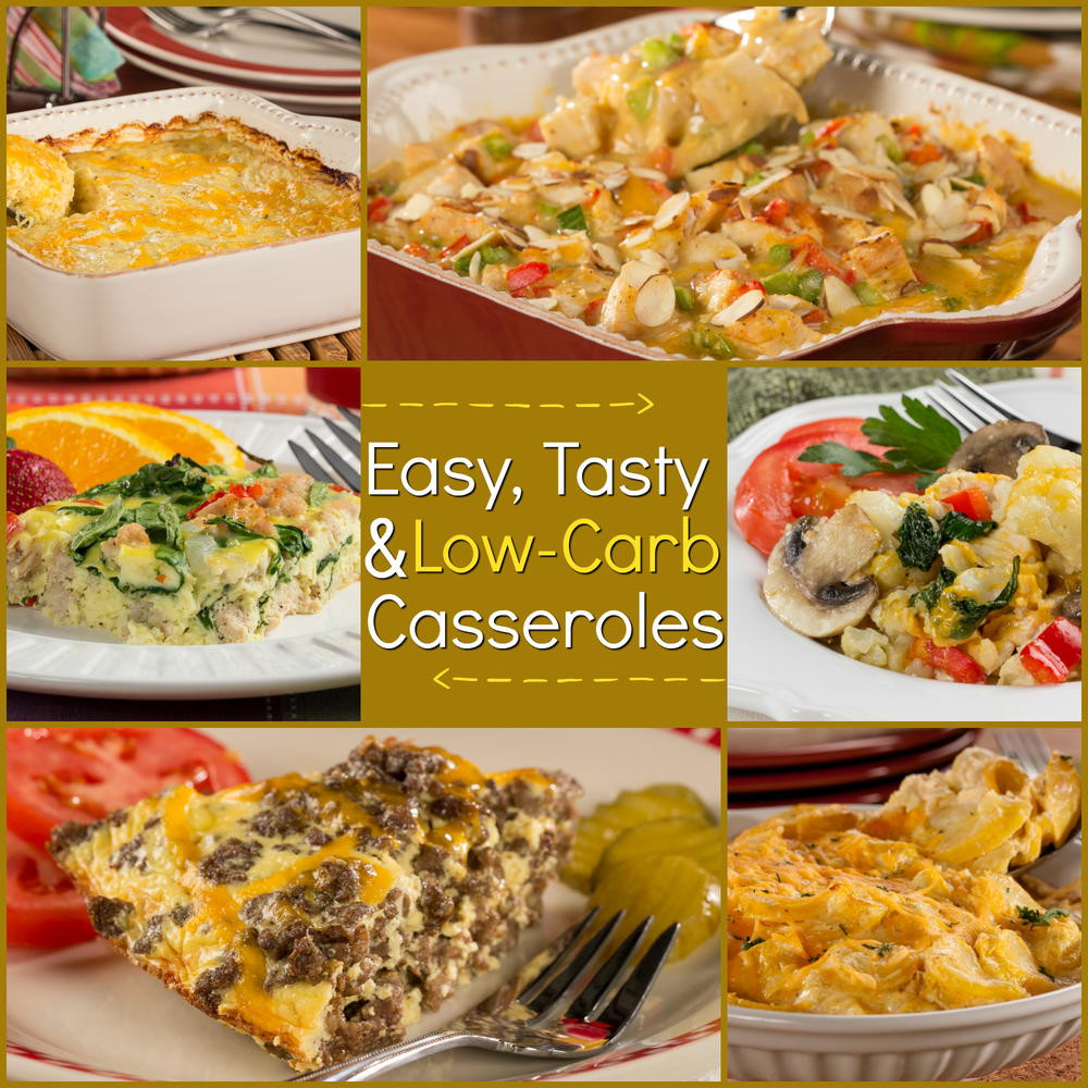 Low Carb Casserole Recipes  Low Carb Casseroles 10 Easy and Tasty Recipes