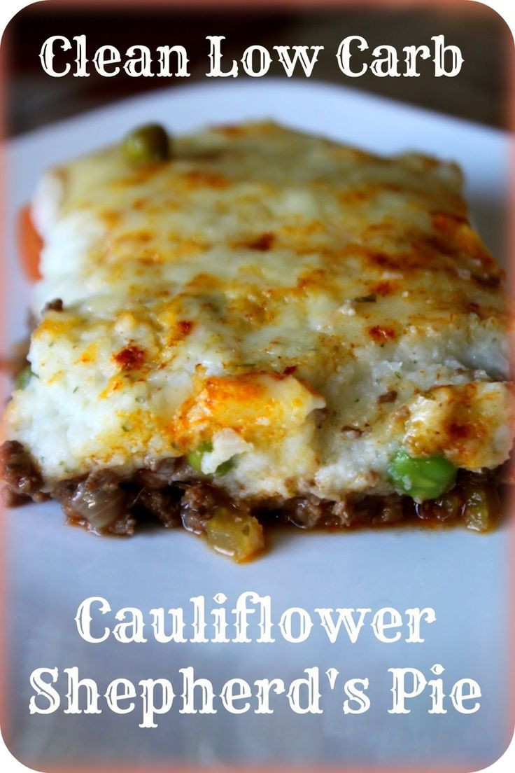 Low Carb Cauliflower Recipes  724 best Low carb recipes images on Pinterest
