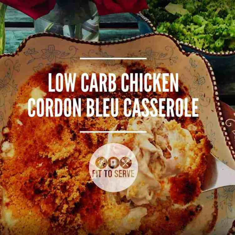 Low Carb Chicken Cordon Bleu Casserole  Low Carb Chicken Cordon Bleu Casserole