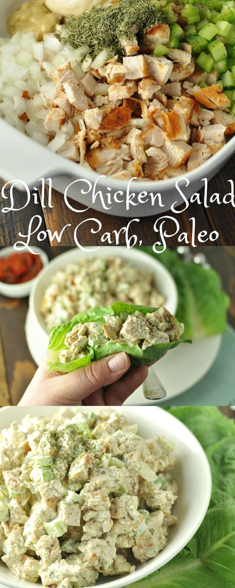 Low Carb Chicken Salad  Dill Chicken Salad Low Carb Paleo