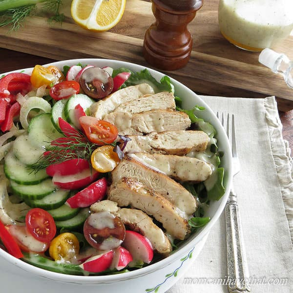 Low Carb Chicken Salad  Low Carb Grilled Chicken Salad