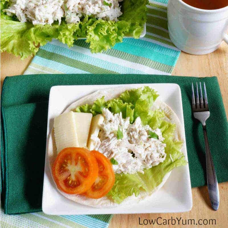 Low Carb Chicken Salad  Basic Low Carb Chicken Salad Gluten Free