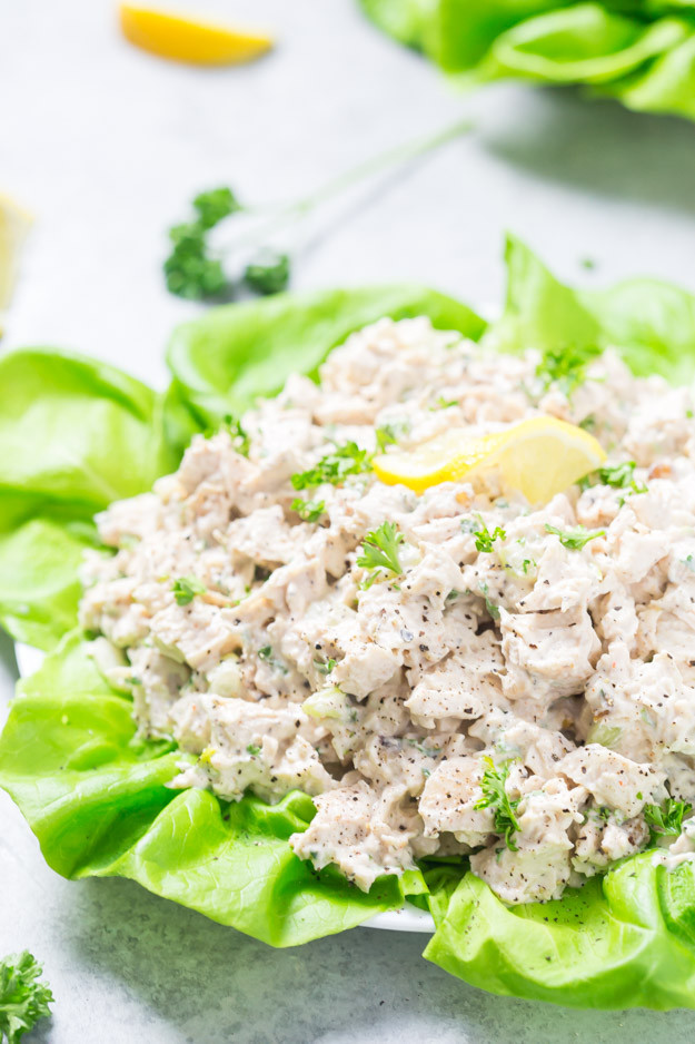 Low Carb Chicken Salad  Easy Low Carb Chicken Salad Gal on a Mission