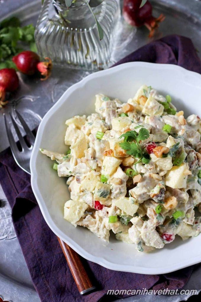 Low Carb Chicken Salad  Low Carb Chicken Salad Recipe with Curry